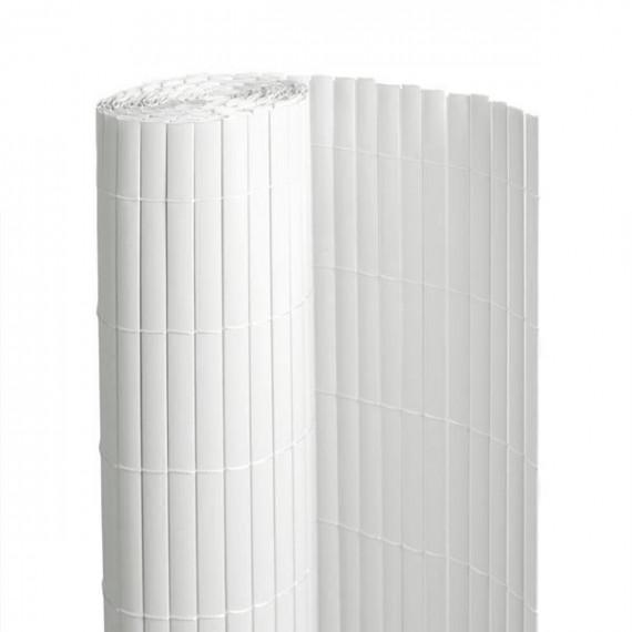 Canisse PVC BLANC Double Face