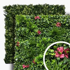 KIT ÉCHANTILLONS 8 Feuillages Artificiels + 7 Murs Végétaux . FG-ECH-MF