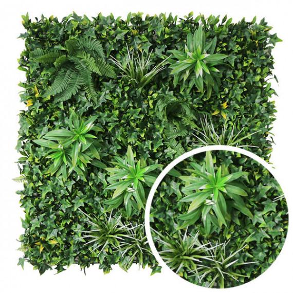 Mur Végétal Artificiel EXOTIC - 1m x 1m . FG-EXO-1010