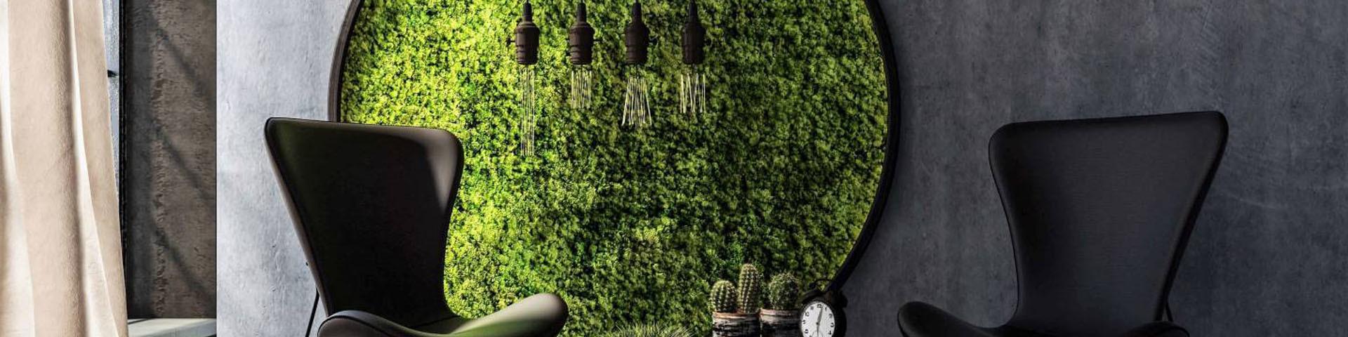 Distributeur de Mur Végétal Artificiel - Chic et Design